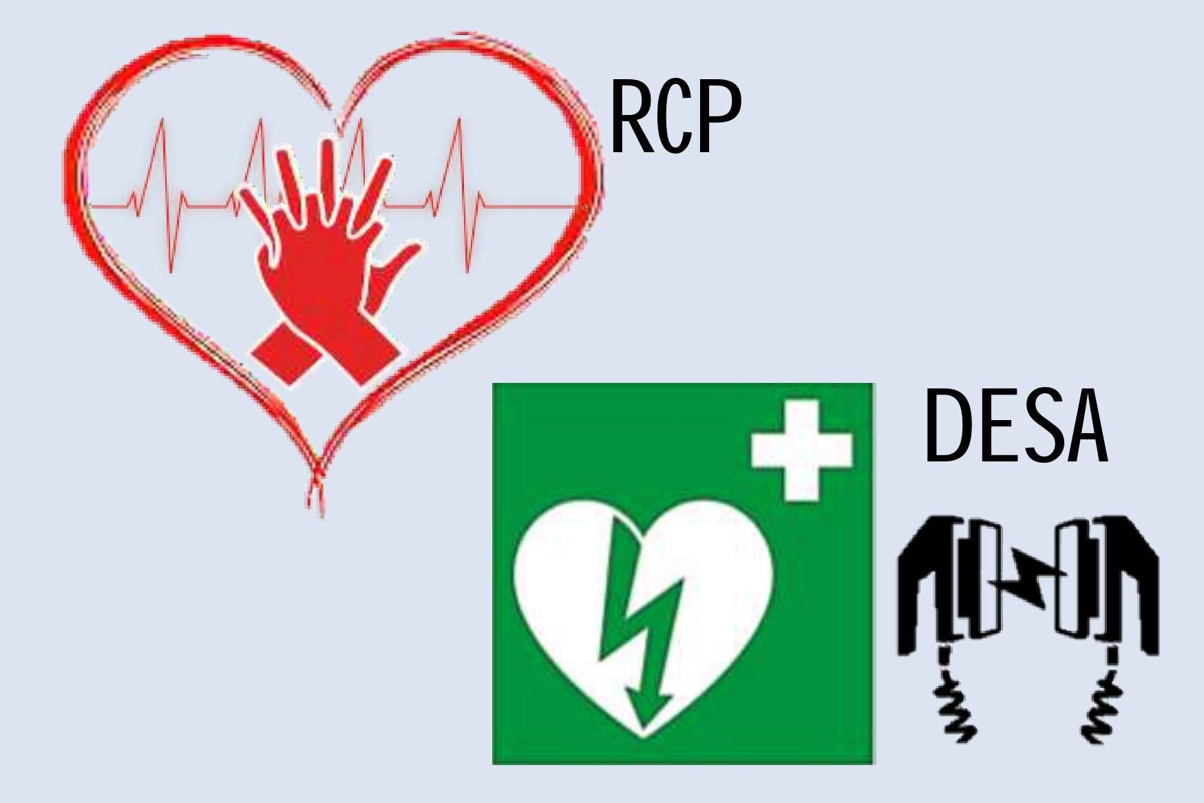 Reanimación cardiopulmonar y uso de desfibriladores